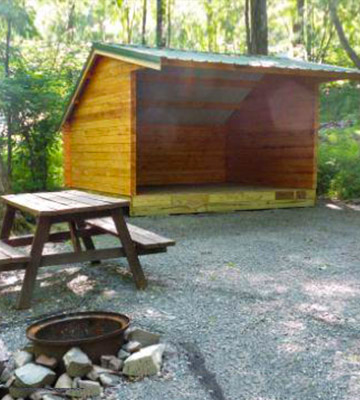 Mountain-Vista-Pocono-Camping-Lean-To-Shelter