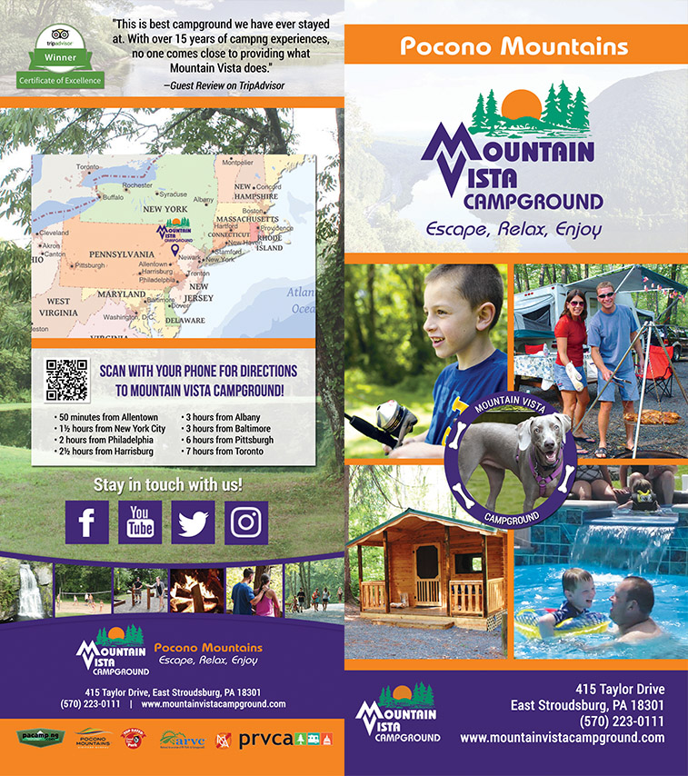 Mountain Vista Campground Brochure